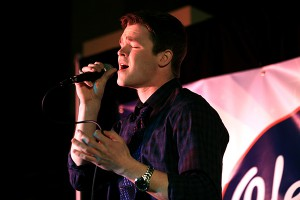 Michael Sings in the Ole Miss Idol competition in 2014